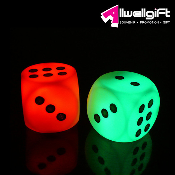 Party Theme Custom Color Dice/