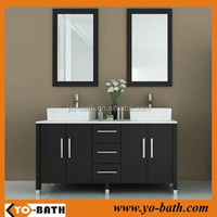 bathroom mirrored vanity