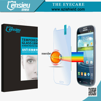 9h explosion-proof mobile phone screen protectors for samsung galaxy s3 i9300