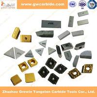 carbide inserts reinforced cutting edge in zhuzhou