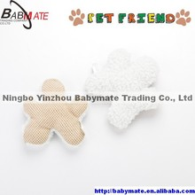 BMP0109 Ningbo BABYMATE Plush Polyester Dog Play Chew Toy Durable Chewing Pet Squeaker Outdoor Activity