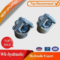 Couplins for gear pumps different types of flanges of WK-Hydraulic wrpa coupling WRPA2-38-M