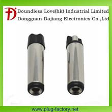 Black 5.5*2.1 MM DC power plug