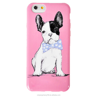 Customized Printing Lovely Dog Cartoon Cell Phone Case for IPhone6 plus