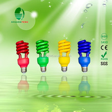 high power half spiral energy saving lighting bulb 65w