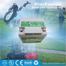 EverExceed 21.6/28Ah 12V Maintenance-free Gel Valve Regulated Lead Acid Battery for golf