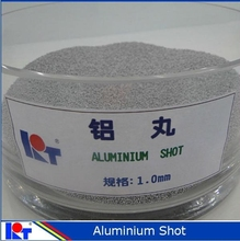 High clearness sand blasting aluminium cut wire shot 1.0 mm from manufacturer -KAITAI