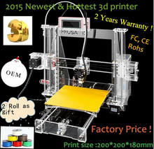 Popular Product! Direct 3d printer Manufacturer! Best China Acrylic Frame 3D Printer for ABS and PLA