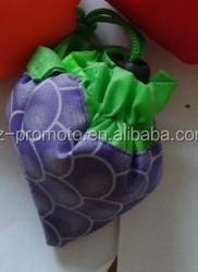 Cheap folding fruit shape shopping bag