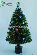 2015 Hot 2 ft Fiber Optic With Led Star Lights Small Christmas Tree
