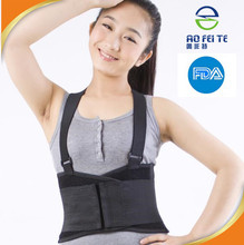 Wholesale alibaba professional four step slim protecting spinal waist brace warm/lumbar support with profoam