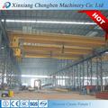 de alta calidad de doble viga de arriba grúa de 100 toneladas con el torno