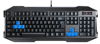 2015 Hot sell usb wired large Led gaming keyboard