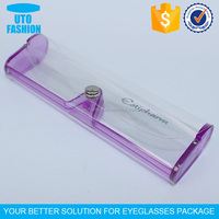 YT1401 Cheap soft clear plasit reading glasses case