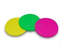 Fda de silicona suave de goma old navy dog frisbee, dog frisbee con logo