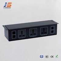 JS-U112 desktop power supply conference aluminium socket