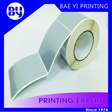 3 inches Blank Roll label sticker