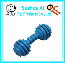 Dumbbell Pet Dog Chews Soft Rubber Dog Toy