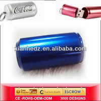 High Speed PVC/metal beer bottle cheap usb 2.0 flash drive