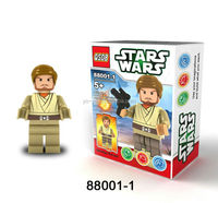 Star Wars Building Blocks 6pcs/set Action Minifigures Toys with weapon