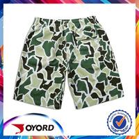 Wholesale Custom plain dyed beachwear of board shorts for man