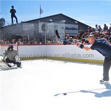 Polyethylene sheet synthetic ice rink UHMWPE hockey factory