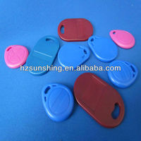 rfid access door key tag with number