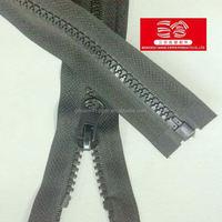 5#plastic zipper different types of zippers