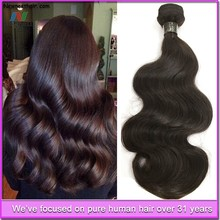 Wholesale high quality low price virgin human hair extension secret hair extension