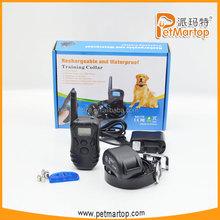2015 new 300m remote dog training collar TZ-KD668 puppy training remote dog bark control