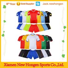 China supply soccer jersey/soccer uniform