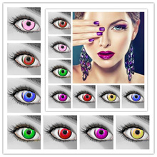 Hot selling christmas contact lenses/cheap price crazy contact lenses/colored lenses