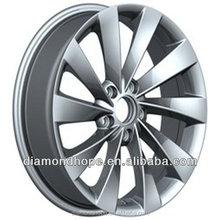"18 inch black chrome alloy wheels 16"" inch white rims(ZW-P438)"