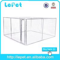 For AUS market wholesale low price galvanized chain link dog kennel runs