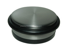 Modern stainless steel big door stopper with rubber ring