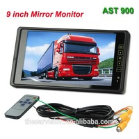 9 inch 16:9 Wide screen mirror camera car with back clip
