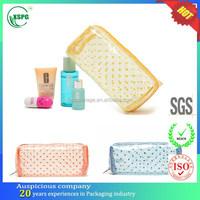 custom cheap cosmetic ladies mini pvc bag