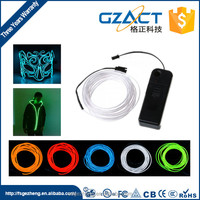 Neon light EL wire wholesale for wedding dress