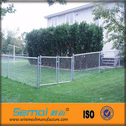 High Quality and Low Price PVC Coated Chain Link Fence (15 years factory )