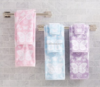 wholesal alibaba 100% Cotton jacquard Eco - friendly bath towel for home textile