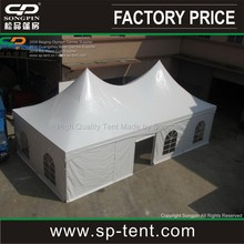 2012 Newly design fire restardant tent/luxury double top tension tent 6x9m