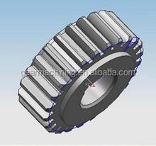 OEM heavy Duty CNC heavy Spur Gear With High Precision