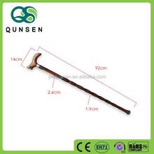 wholesale elderly wooden protection walking stick