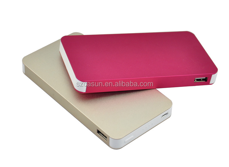 2015 fashion 2600mah portable power bank charger