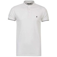 brand 200 gsm cotton plain white pk polo t-shirt