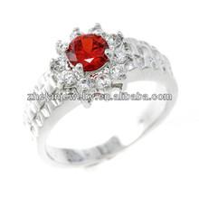 Hot one stone design platinum rings guagndong wholesale rings