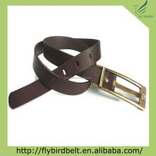 Ali express brown leather cross ladies belt