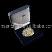New package of leather coin box for souvenir