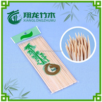 2.5*180mm round bamboo stick for bbq