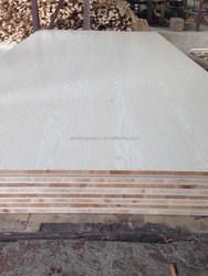 hpl natural 3mm Beech Board sided melamine plywood Malacca core E0 glue Furniture HPL